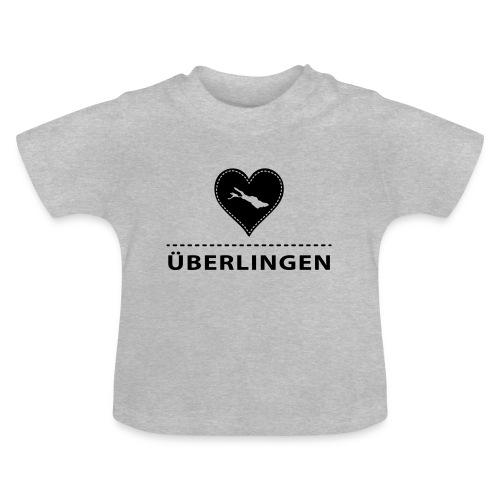 BABY Überlingen flock schwarz - Baby T-Shirt