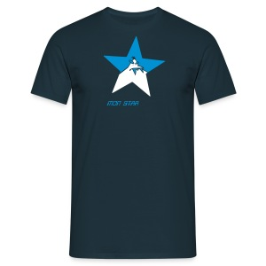 mon STAR monster - Männer T-Shirt