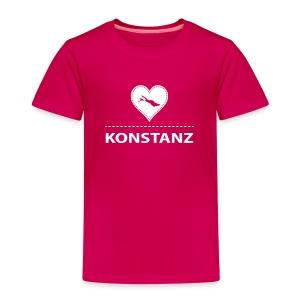 KIDS Konstanz flock weiß - Kinder Premium T-Shirt
