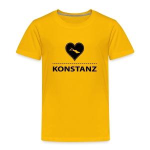 KIDS Konstanz flock schwarz - Kinder Premium T-Shirt