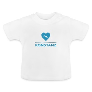 BABY Konstanz flock blau - Baby T-Shirt