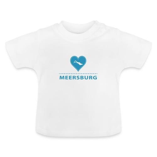 BABY Meersburg flock blau - Baby T-Shirt
