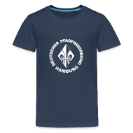 T-Shirts ~ Teenager Premium T-Shirt ~ Lilie + DPBH Jugendliche