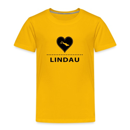 KIDS Lindau flock schwarz - Kinder Premium T-Shirt