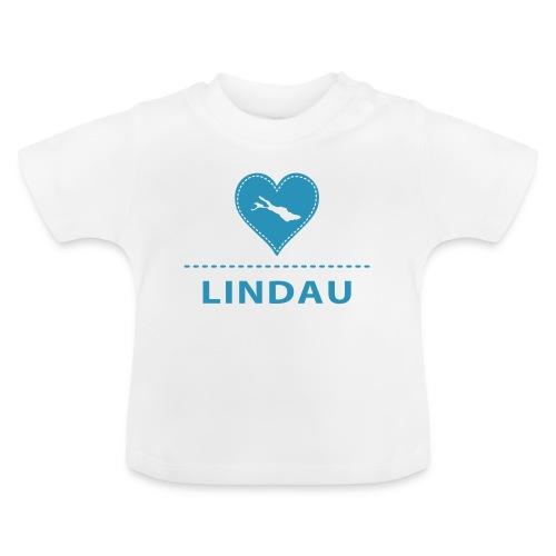 BABY Lindau flock blau - Baby T-Shirt