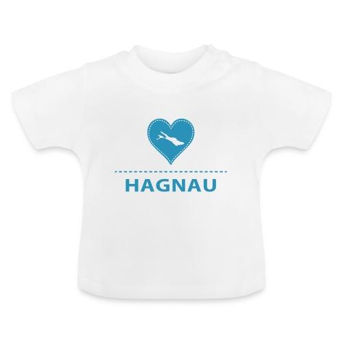 BABY Hagnau flock blau - Baby T-Shirt