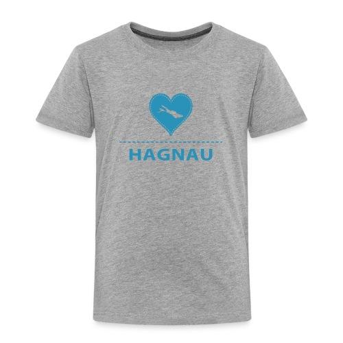 KIDS Hagnau flock blau - Kinder Premium T-Shirt