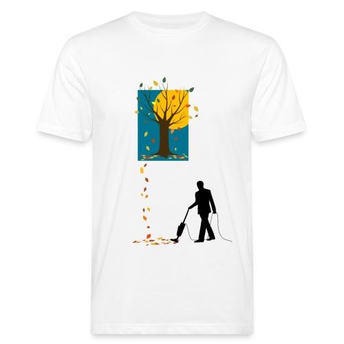 LaubSauger-C-BioShirt - Männer Bio-T-Shirt