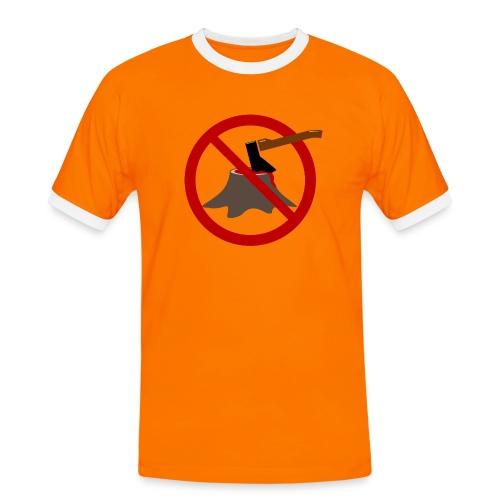 BloodyTree - Männer Kontrast-T-Shirt