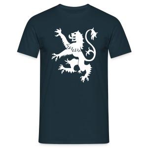 Scotland Rampant Lion Mens T Shirt Navy - Men's T-Shirt