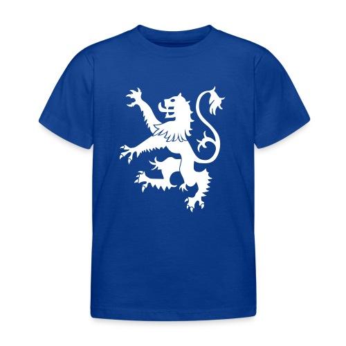 Scotland Rampant Lion Childrens T Shirt Blue - Kids' T-Shirt