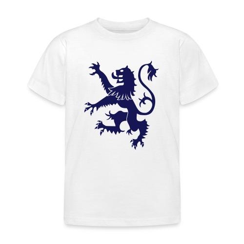 Scotland Rampant Lion Childrens T Shirt White - Kids' T-Shirt