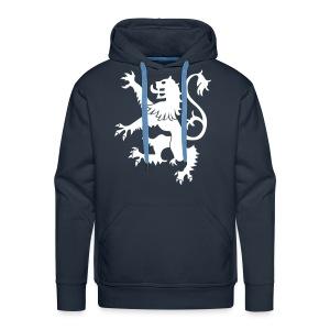Scotland Rampant Lion Mens Hoody - Men's Premium Hoodie