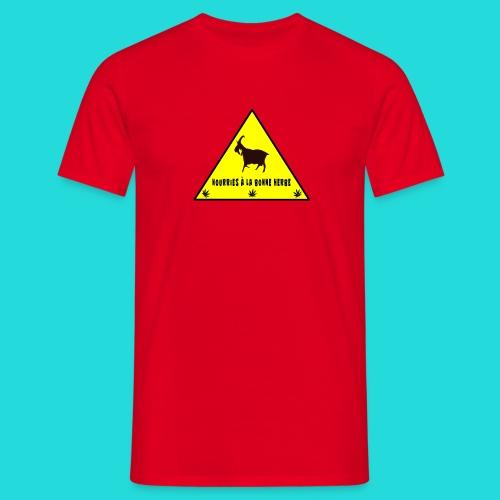 T-shirt L'herbe des Chévres - T-shirt Homme