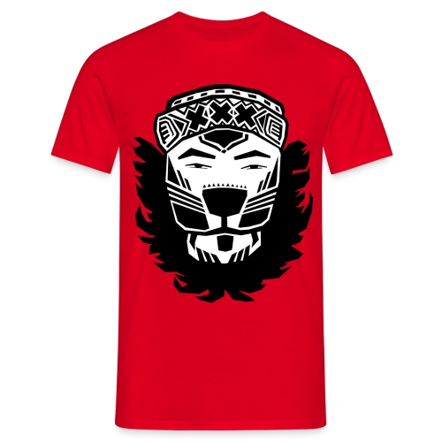 LIONXXX T-Shirt (Zwart) - Mannen T-shirt