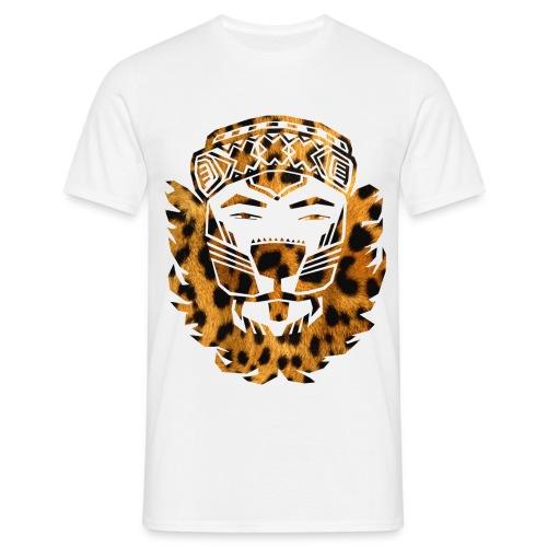 LIONXXX T-Shirt (Leopard) - Mannen T-shirt