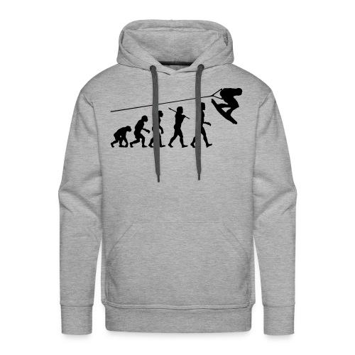 wake evolution for him - Männer Premium Hoodie