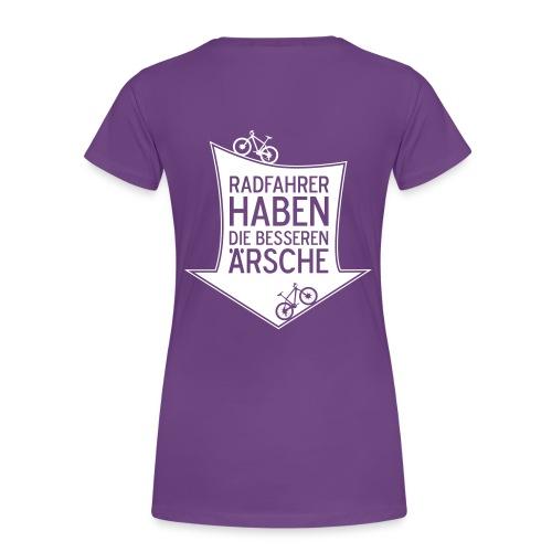 Bessere Ärsche - Frauen Premium T-Shirt