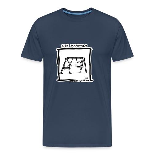 Eier schaukeln - Männer Premium T-Shirt
