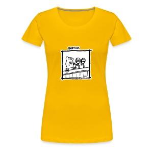 Barfuss (Frauen) - Frauen Premium T-Shirt