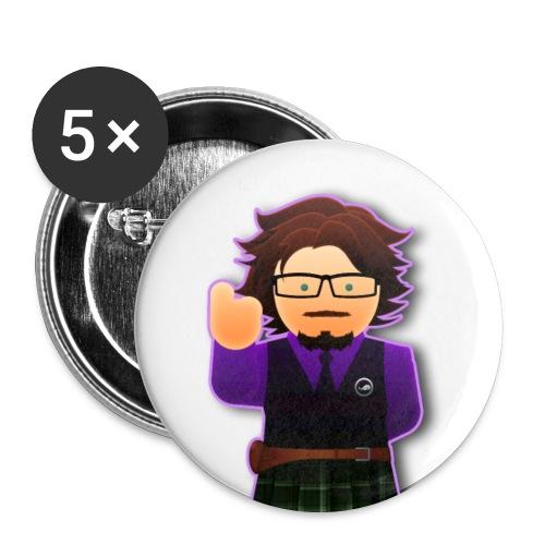 Dr.Loki badges 3 - Lot de 5 moyens badges (32 mm)