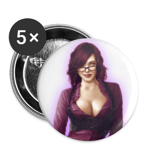 pin up Dr.Loki badges 3 - Lot de 5 moyens badges (32 mm)