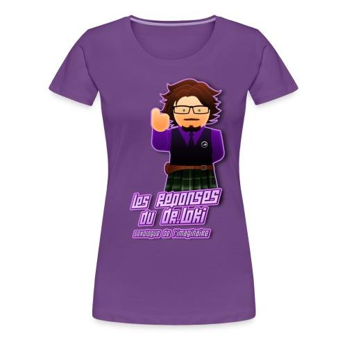 Dr.Loki femme 2 - T-shirt Premium Femme