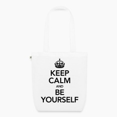 Keep Calm And Be Yourself Bags & backpacks