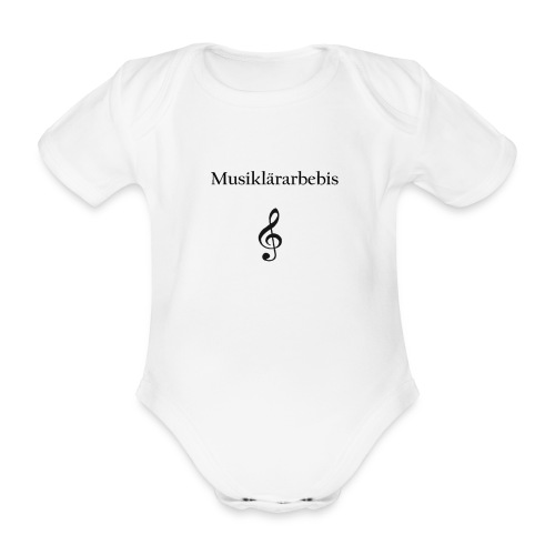 Musiklärarbebis - Ekologisk kortärmad babybody