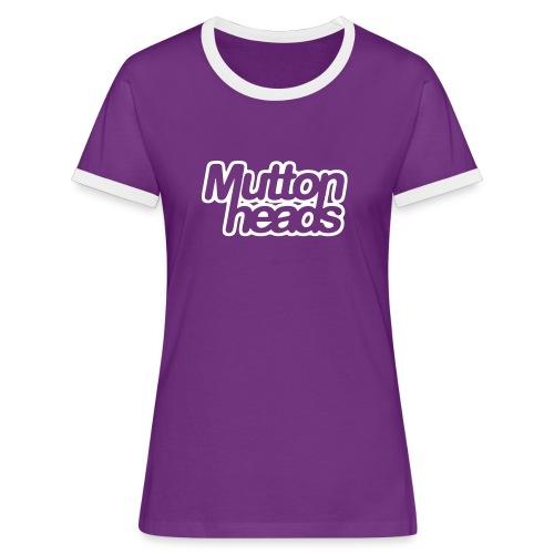 mths_logo_nb - Women's Ringer T-Shirt