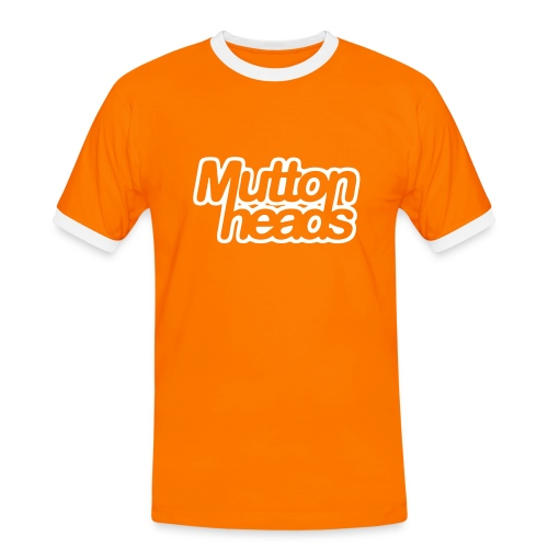 mths_logo_nb - Men's Ringer Shirt