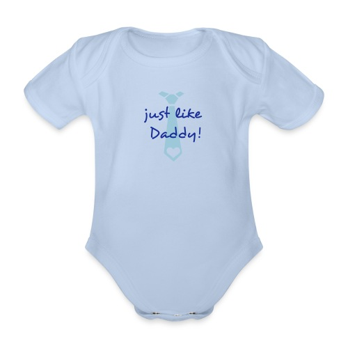 baby one piece with tie - Organic Short-sleeved Baby Bodysuit