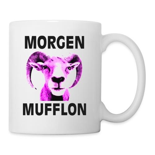 """""""Morgen Mufflon"""" Tasse - Tasse"""