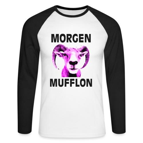 """Morgen Mufflon"" Sweaty - Männer Baseballshirt langarm"