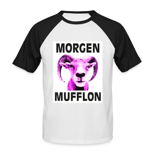 """Morgen Mufflon"" Kerls-Shirt - Männer Baseball-T-Shirt"