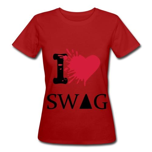 Maglia per donne- I love SWAG - T-shirt ecologica da donna