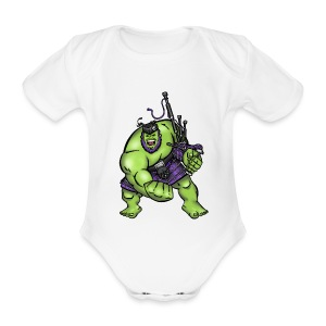 Stop Asking ! Babyz - Organic Short-sleeved Baby Bodysuit