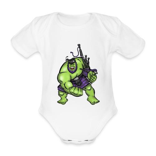 Stop Asking ! Babyz - Organic Short-sleeved Baby Bodysuit
