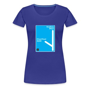 Elland Road: M621 - Junction 2 - Women's Premium T-Shirt