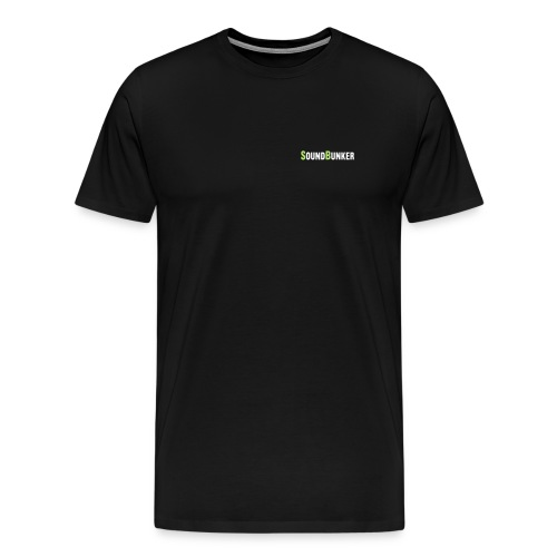 Vorne und Hinten für dunkle Farben - Männer Premium T-Shirt