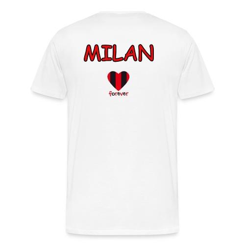 MILAN - Maglietta Premium da uomo