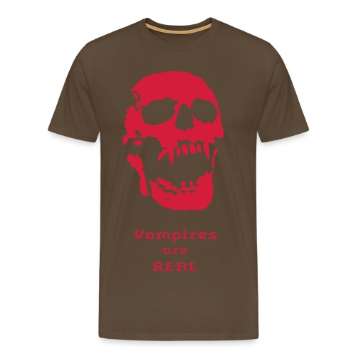 Vampires are REAL! - Men's Premium T-Shirt