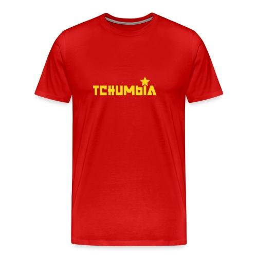 Ciumbia red - Maglietta Premium da uomo