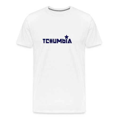 Ciumbia white - Maglietta Premium da uomo