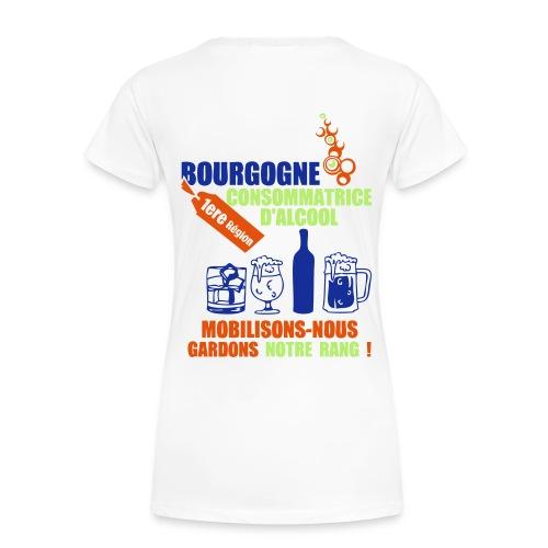 tee-shirt femme mobilisons nous - T-shirt Premium Femme
