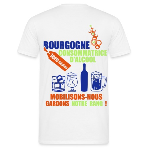 tee-shirt homme mobilisons nous - T-shirt Homme