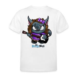 Little Rockstar Wolf - Kids' T-Shirt