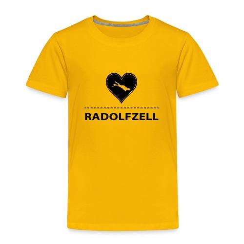 KIDS Radolfzell flock schwarz - Kinder Premium T-Shirt