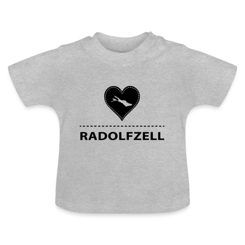 BABY Radolfzell flock schwarz - Baby T-Shirt