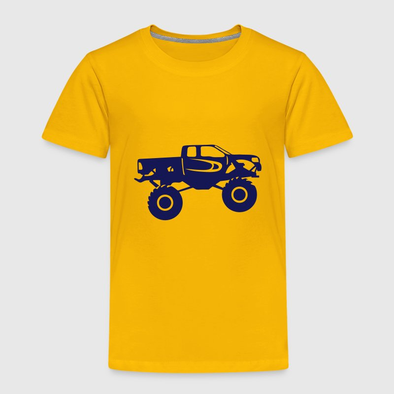 monster truck camion americain 1106 Tee shirts - T-shirt Premium Enfant
